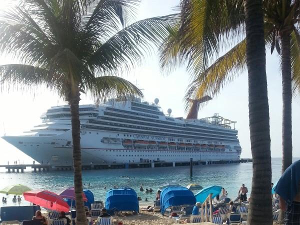 Seashore And Ship